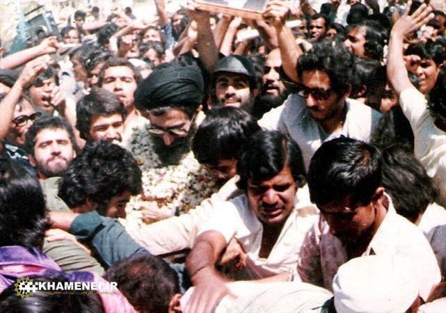 استقبال مردم هندوستان از رهبر انقلاب