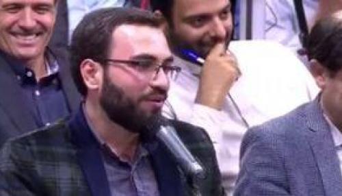 محمد حسین مهدویان در حضور رهبر