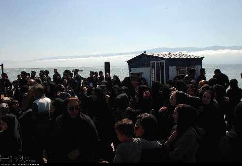عزاداری در جزیره آشوراده12