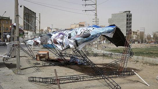 تصاویری وحشتناک از خسارات طوفان در ارومیه3