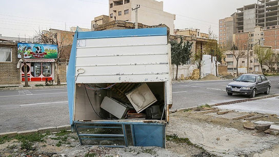 تصاویری وحشتناک از خسارات طوفان در ارومیه6