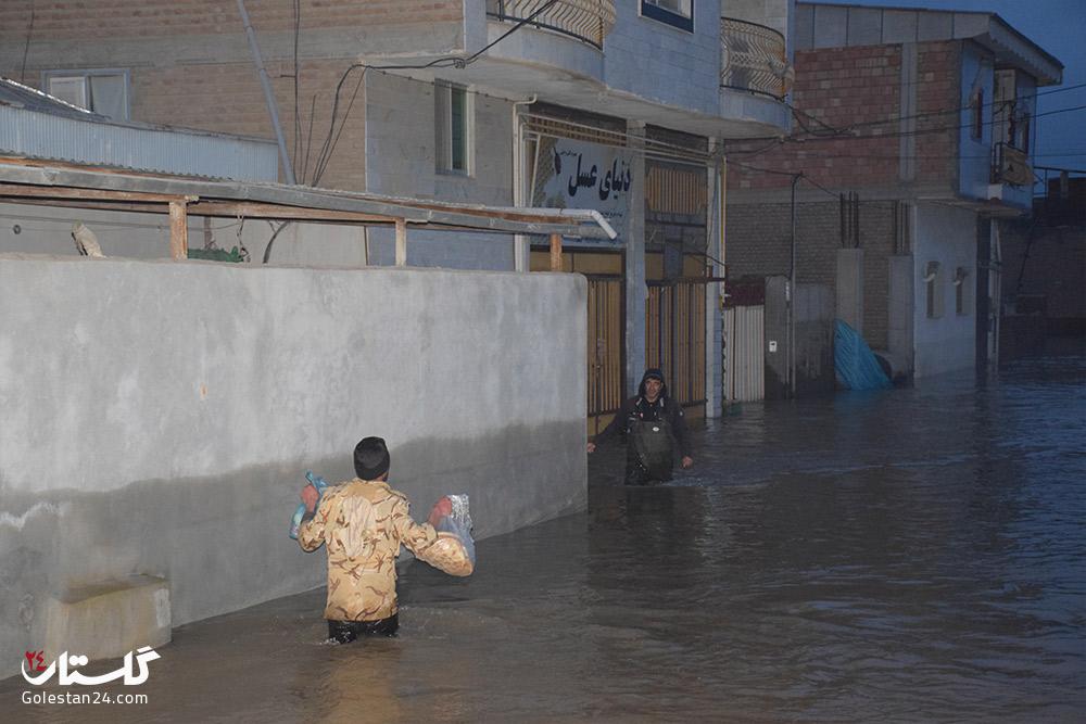 سیل گلستان - شهرستان آق قلا - پنجم فروردین 98 (26)
