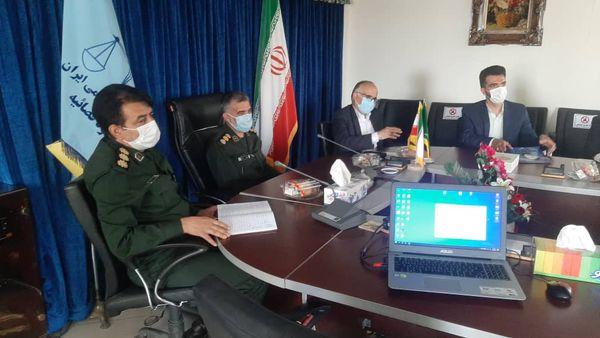جلسه تجلیل از وکلا دفتر حمایت حقوقی و قضایی ایثارگران و بسیجیان استان گلستان