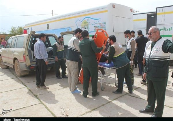 خدماترسانی به بیش از ۸۵ هزار نفر در بیمارستانهای صحرایی سپاه در مناطق سیلزده گلستان