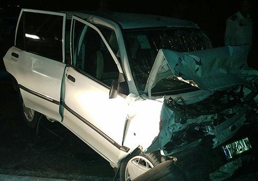 6 مصدوم و یک کشته در تصادف در گنبدکاووس
