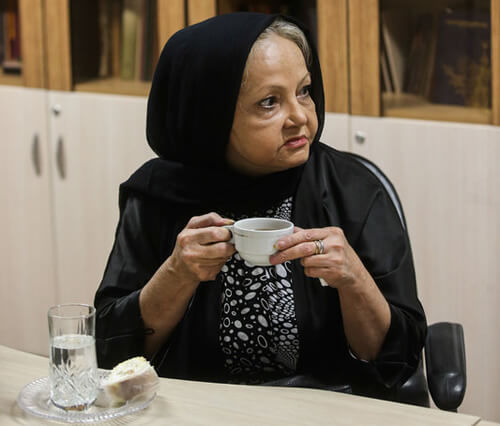 عکس لحظات آخر و علت مرگ ثریا حکمت بازیگر ایرانی