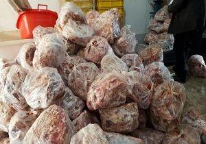 معدوم سازی بیش از ۲ تن مرغ و گوشت قرمز فاسد در گلستان