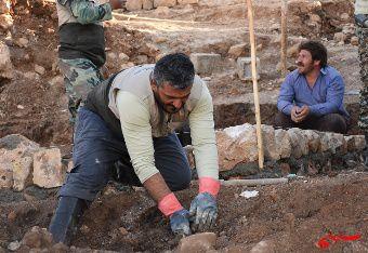 ورود دومین گروه جهادی استان گلستان به مناطق زلزله زده+تصاویر