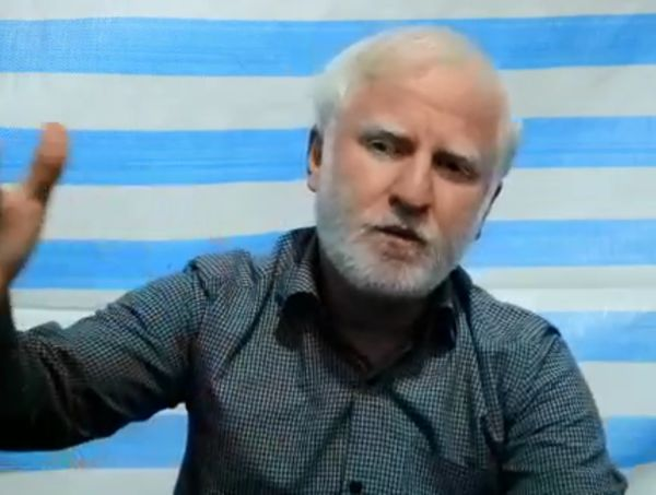 """رئیس قرارگاه مردمی اربعین """"خاتم الاوصیاء"""" استان در کربلای معلی"""