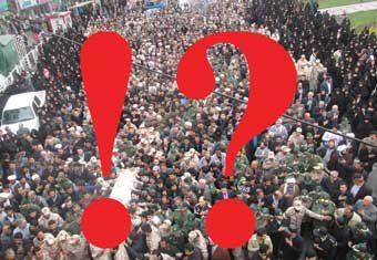 غیبت سوال برانگیز مسئولین استان گلستان در تشییع شهید مدافع حرم !