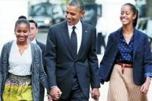 اوباما نگران سرنوشت دخترانش