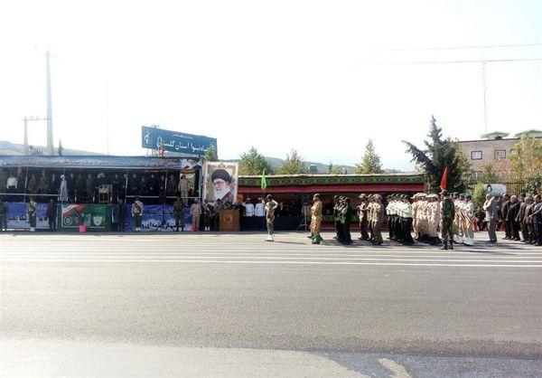 رژه نیروهای مسلح در استان گلستان برگزار شد