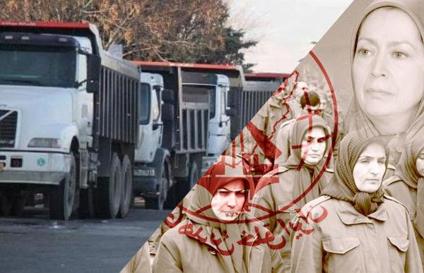منافقین پشت پرده ی اعتصاب کامیونداران هستند