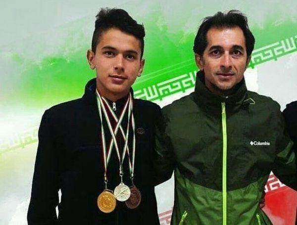 کسب مقام قهرمانی مسابقات دو و میدانی توسط دانش آموز گلستانی