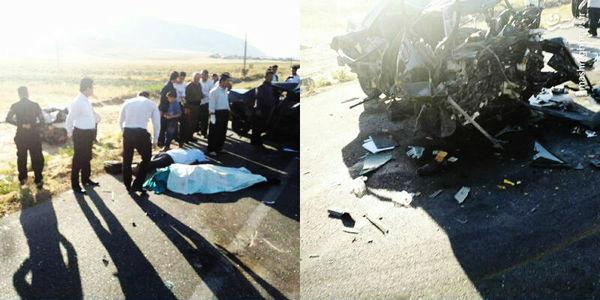 تصادف مرگبار دنا و پراید! + تصویر