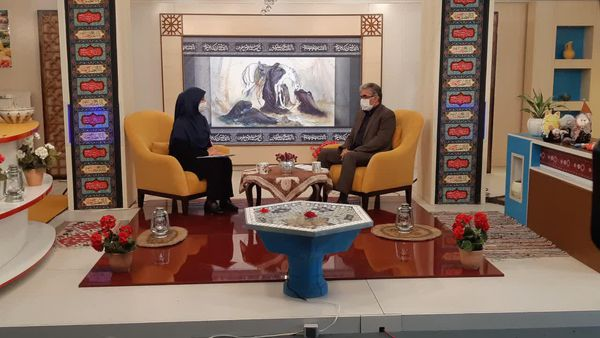 حضور مدیرکل آموزش و پرورش گلستان در برنامه زنده تلویزیونی