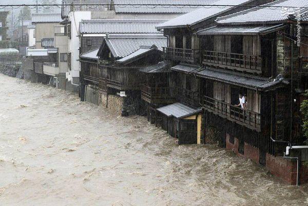 فیلم/ خسارتهای طوفان هاگیبیس در ژاپن