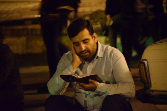 مراسم اولین شب قدر در امامزاده عبدالله گرگان