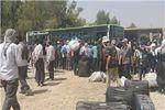 صدها تروریست مجبور به خروج ازریف دمشق شدند