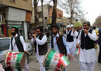 تصاویر/ جشنواره نوروز خوانی اقوام ساکن گرگان