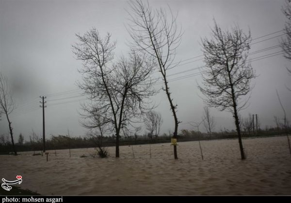 تداوم بارشها در همه جادههای گلستان؛ ورودی غربی گلستان مسدود شد