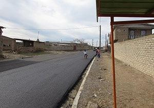 اجرای آسفالت معابر ۹۳ روستای استان گلستان