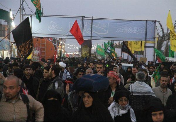 پیاده روی جاماندگان اربعین در گلستان برگزار شد
