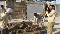 حضور گروههای جهادی و اردوهای محرومیتزدایی در مناطق سیلزده گنبد