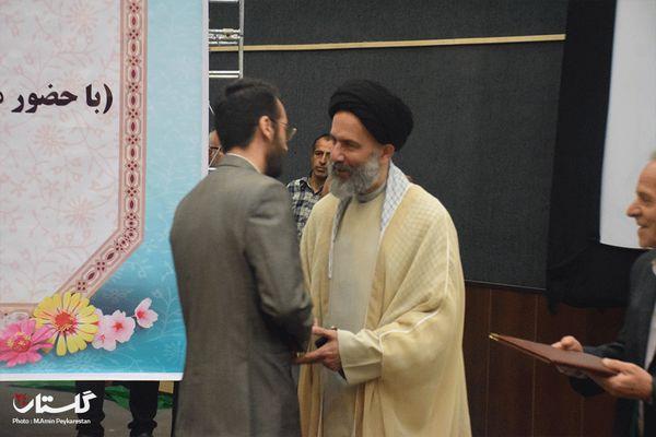 علوی مسئول جدید دفتر نمایندگی آستان قدس در گلستان شد