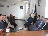 دیدار مدیریت شعب بانک قرض الحسنه مهر ایران استان با سرپرست کمیته امداد گلستان