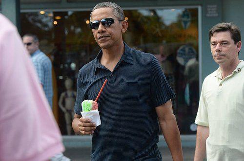 آخرین تعطیلات کریسمس رییس جمهور اوباما و خانواده +عکس
