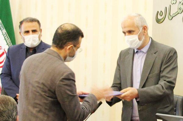 تقدیر از قضات برتر جشنوارهی آرای قضایی گلستان