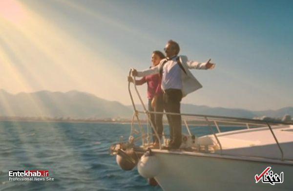 صحنه سانسور شده و تایتانیکی قسمت ۱۲ سریال پایتخت!/فیلم