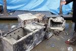 عکس/ گاوصندوق آسیب دیده در حادثه پلاسکو