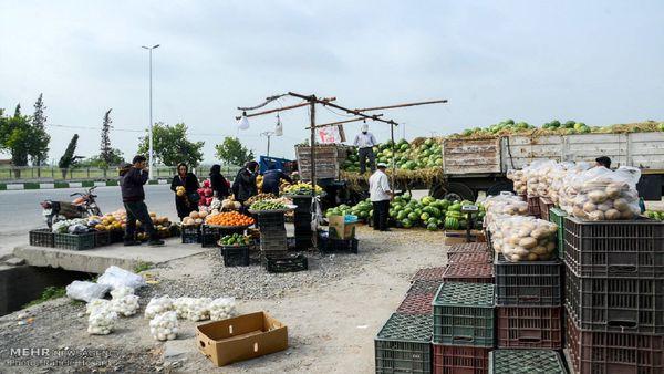 دستفروشان حاشیه جادههای گلستان نقره داغ میشوند/اعمال قانون جدید از چهارشنبه