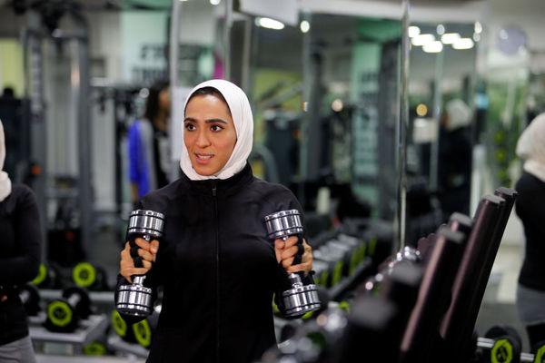 بدنسازی زنان در عربستان! + تصاویر