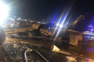 فیلم/ سقوط مرگبار هواپیمای حامل بیمار کرونایی