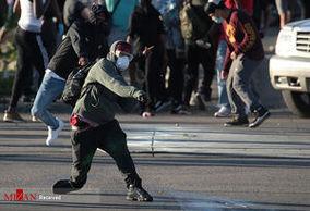 فیلم/ زیرگرفتن معترضان آمریکایی!