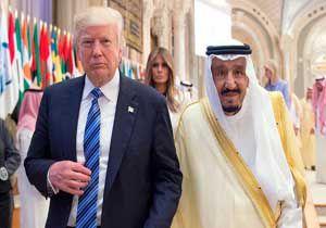 فیلم / ترامپ شاه صعودی را تحقیر کرد!