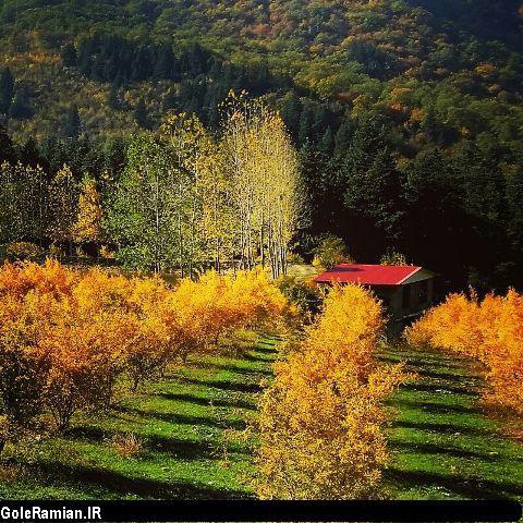 تصاویر فوق العاده زیبای پاییزی طبیعت رامیان/ تصاویر