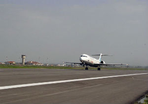 برنامه پرواز فرودگاه بین المللی گرگان، دوشنبه دوم دی ماه