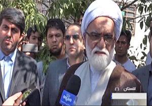 فیلم / بازدید نماینده ولی فقیه از مناطق سیل زده استان گلستان