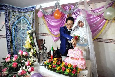 تصاویر/ ازدواج زوج چینی در گرگان