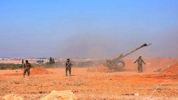 تسلط کامل ارتش سوریه بر شهرک هنانو و اطراف آن