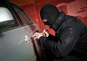 سارق محتویات خودرو در دام قانون