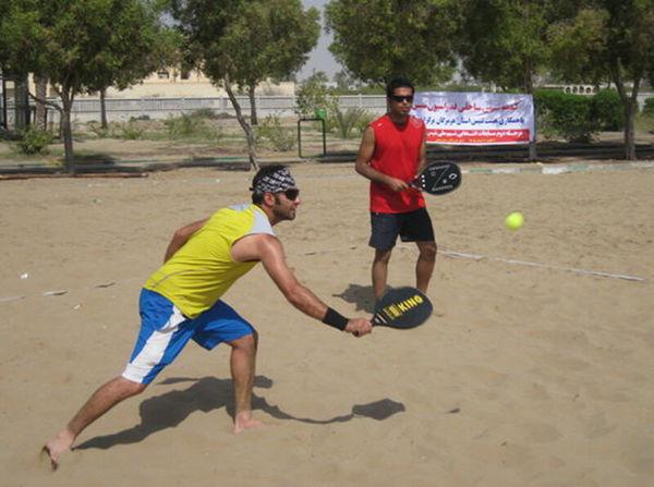 گلستان قهرمان تنیس ساحلی کشور شد