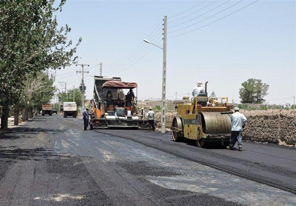 معابر ۱۲۰ روستای گلستان تا پایان امسال آسفالت میشود