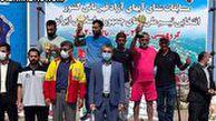 نائب قهرمانی گلستان در مسابقات شنای آبهای آزاد کشور