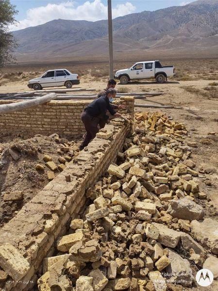 قلع و قمع ساخت و ساز های غیر قانونی در اراضی ملی و منابع طبیعی