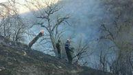 مهار آتشسوزی در پارک ملی گلستان